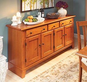 Мебель для столовой | Woodsmith планы