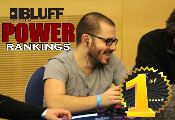 Перед началом WSOP 2015 в BLUFF Poker Player Power Rankings лидирует Дэн Смит.    Первое место в BLUFF Poker Player Power Rankings на данный момент занимает Дэн Смит, однако совсем скоро WSOP 2015 приведет к изменениям в рейтинге.