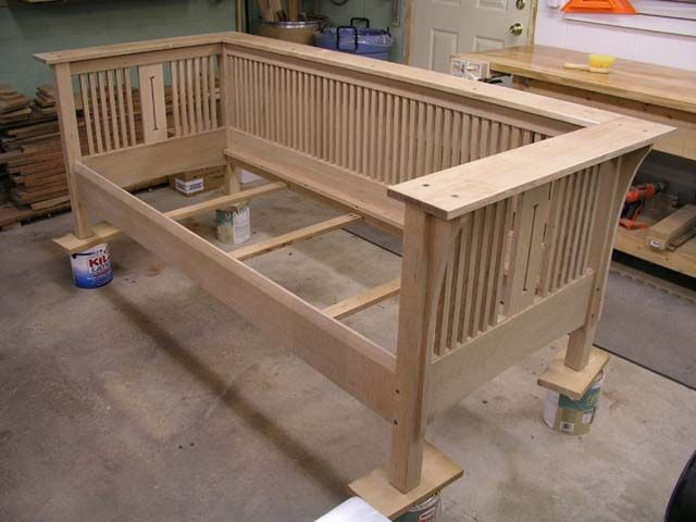 201 best mission amish style images on pinterest for Craftsman furniture plans