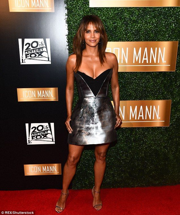Fierce after 50! Halle Berry wowed the sixth annual Icon Mann Pre-Oscar Dinner in Beverly ...