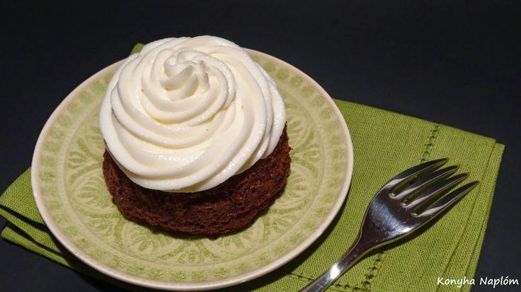 Konyha Naplóm: Meggyes-joghurtos tortácska