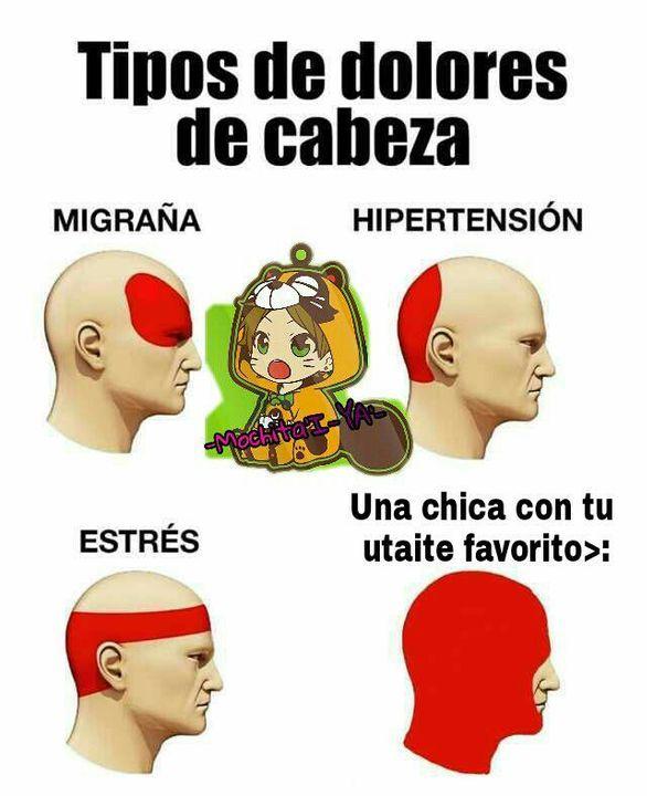 Utaite S Memes V Dolor Tipos De Dolor De Cabeza Dolor Dolores De Cabeza