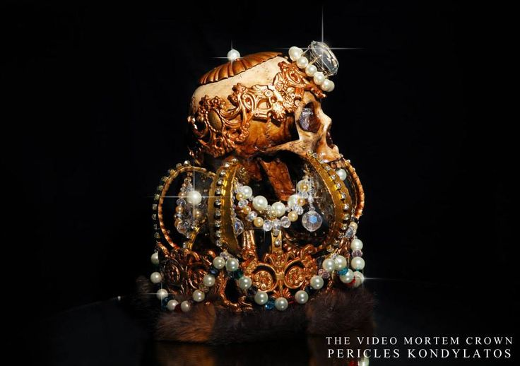 """The """"Video Mortem"""" Crown by Pericles Kondylatos Still life pictures by Panagiotis Karamitsos / """"WE THE PEOPLE"""""""