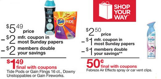 Kmart Double Coupons Sneak Peek 7/6 – 7/12