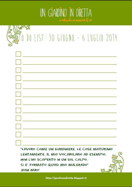 to do list: le cose da fare questa settimana (30 giugno - 6 luglio) Paesaggi catalani ed un grande Maestro per la to do list della settimana! #giardino #giardinoindiretta #todolist #citazioni