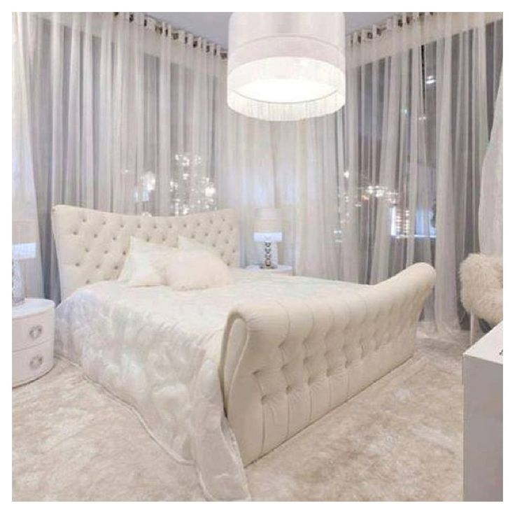 8 Luxury Bedrooms In Detail: Sexy Bedroom White Charisma Design Http://www.squidoo.com