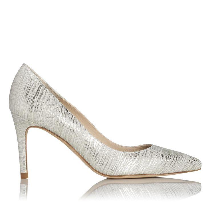 Floret Metallic Striped Court Shoes | £185 | L.K.Bennett