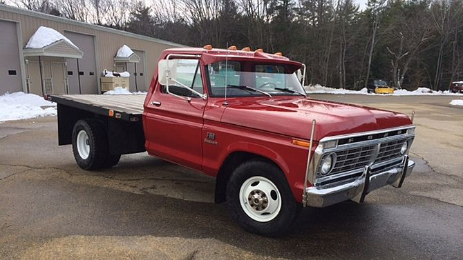 1974 Ford F350 Dually Flat Bed 460 Ci 4 Speed Mecum