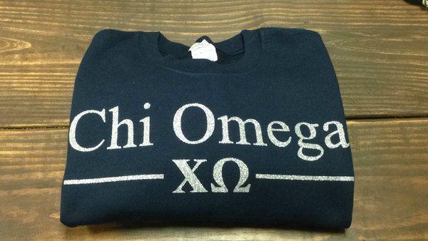 Chi Omega Sorority Sweatshirt