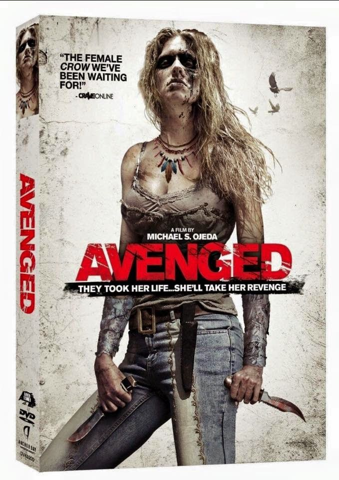 Amycanbe's Blog: Avanged (aka Savaged) out on DVD/Blue Ray in USA