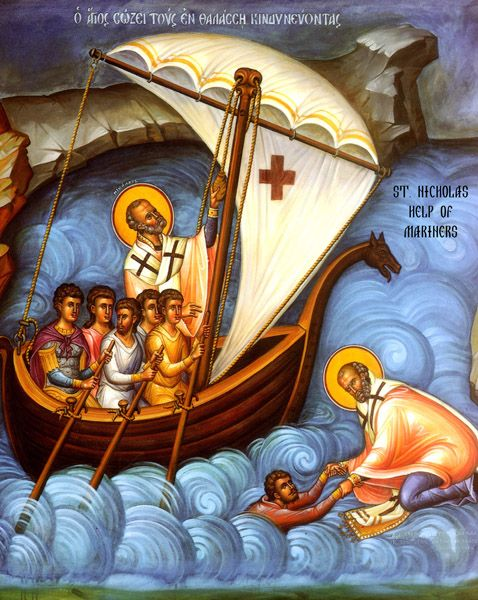 Love this icon of St. Nicholas.