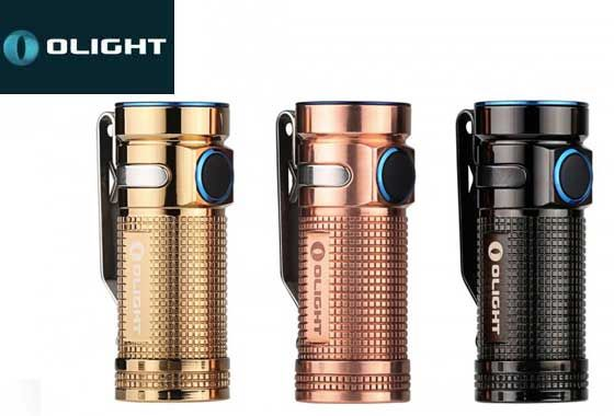 Olight S Mini CU 550 lumen limited edition copper LED torch | liteshop.com.au