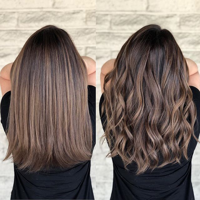 [New] The 10 Best Hairstyle Ideas Today (with Pictures) - Curl VS straight . . Color correction by @andrewlovescolor Before pic is in my story #Shades...