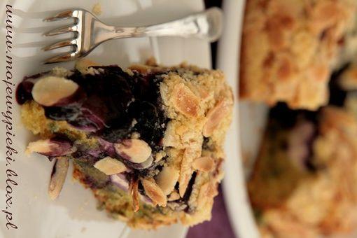 Ciasto z serem i jagodami