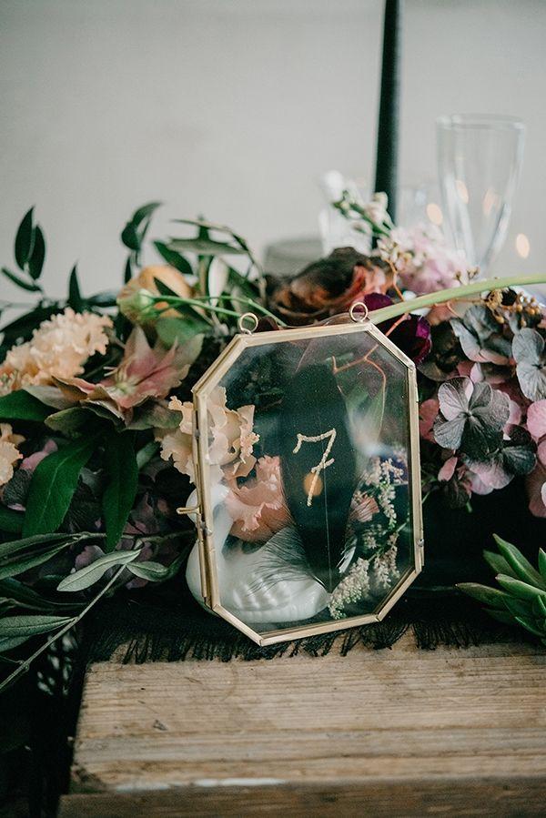 Autumn wedding with a black color palette