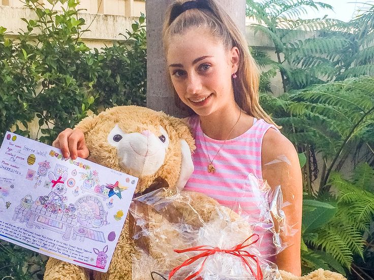 Congratulations, Sterre! Winner 11-16 years in the Professionals Tamborine Mountain Easter Colouring Competition 2015