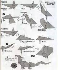 Afbeeldingsresultaat voor origami instructions dragon