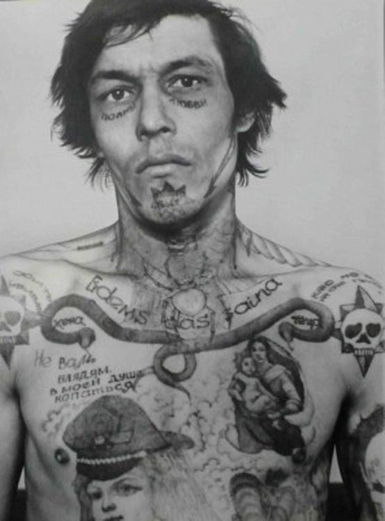 Tatuagens nas prisões Russas