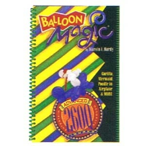 "Balloon Magic Advanced (2""x60') Figures Book"