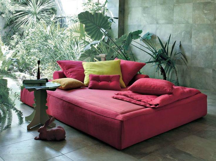 Letto / letto da giardino in tessuto ACADEMY PIUMA SOMMIER by Twils