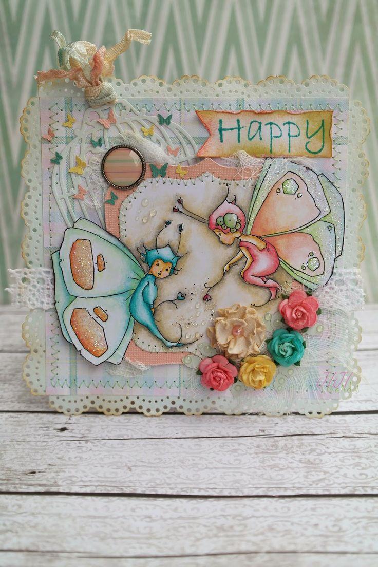 JIJI Cards: Щастлива {Happy}