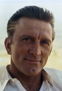 Kirk Douglas. I always loved Kirk Douglas as an actor and very handsome man.