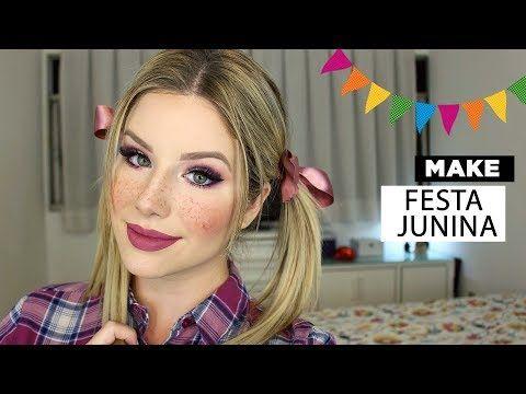 Make de Festa Junina - São João - YouTube