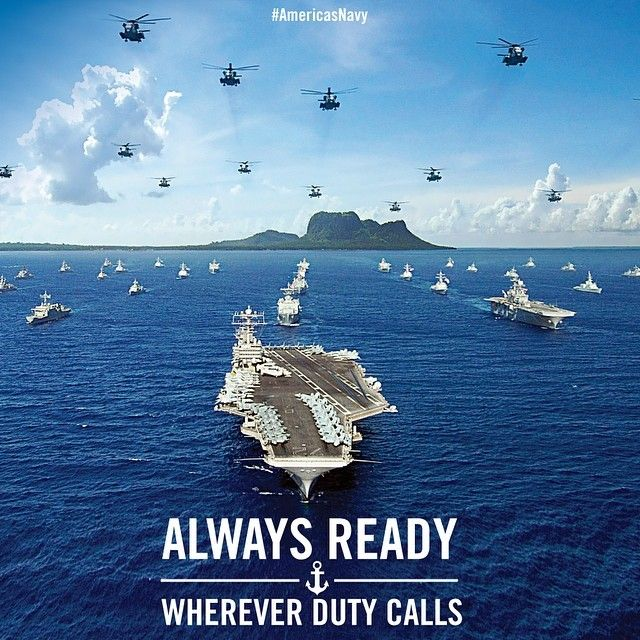 The greatest blue-water Navy Fleet in the world is never far from a coastline near you. Naval Power Projection brought to you by America's Navy. #Navy #USNavy #AmericasNavy navy.com