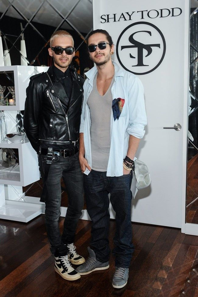 Bill & Tom at Shay Todd Collection Preview!!!!!