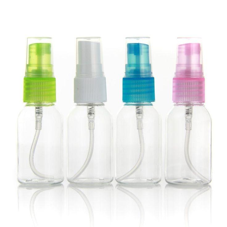 goege 30ml portable refillable plastic fine mist perfume make up clear empty spray sprayer bottle cosmetic