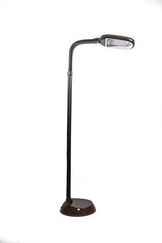 K&N - 27W Brown Floor Lamps Adjustable Gooseneck Sunlight Bedroom Lighting Decor #KandN #ArtsCraftsMissionStyle