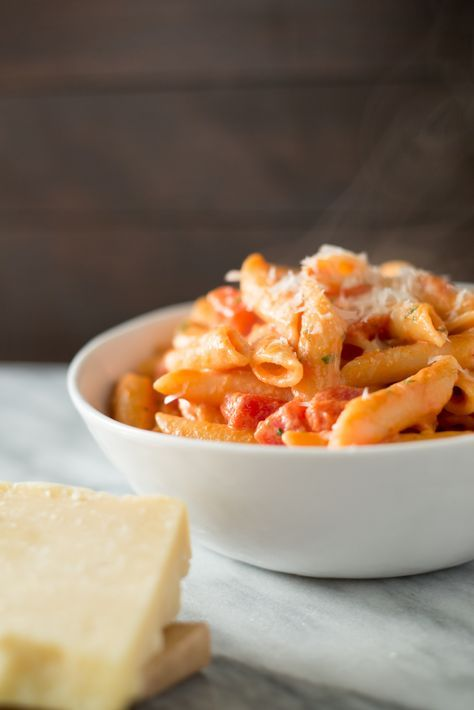 This might be the best Vodka Penne recipe ever. Easy to make but full of flavor, you'll be wishing your pasta bowl was just a bit bigger.