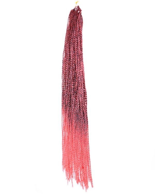 """14"""" Red Braiding Hair Synthetic Hair Extension Afro Twist Braids"""