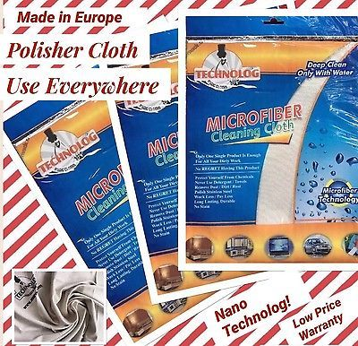 BUY 1 GET 1 FREE!  Magic Nano Microfiber Cleaning Cloth Only With Water Towel   | eBay