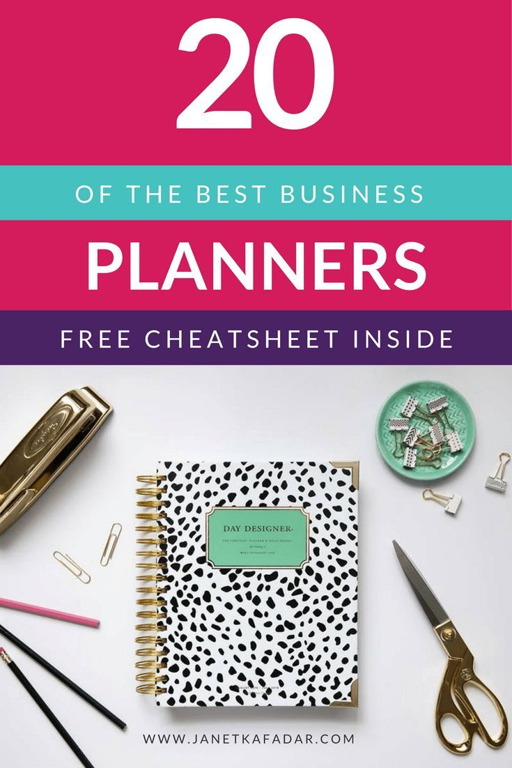 Every digi entrepreneur & blogger needs a business wingman! If you're looking for a business planner this year, and not sure which one to choose Discover 20 of the best Business Planners on the market for 2016 > http://www.janetkafadar.com/ultimate-2016-business-planner-guide/