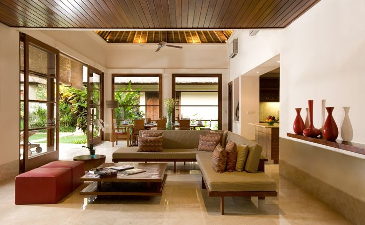 Indonesian Balinese Style Decor Clean And Airy Living Space Indonesian Inspired Living