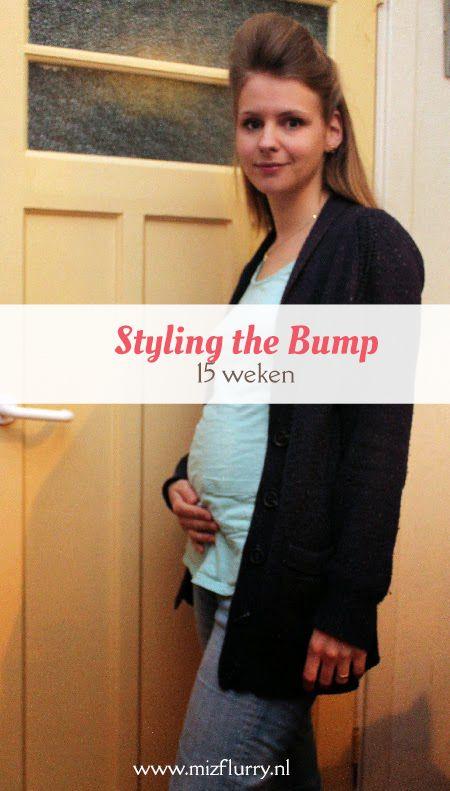Vierde post uit de serie Styling the Bump, waarin ik mijn zwangerschapsoutfits toon van toen ik zwanger was van Kate. -15 weken zwanger.