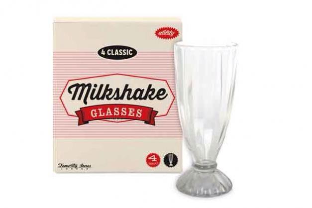 Hannam's has Milkshake glasses...
