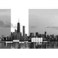 052VE XXXL - Icke-Vävd / Non-Woven Fototapet America's Skylines