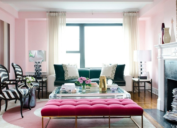 Pink Living Room Part 43