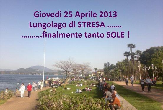 Ponte 25 Aprile – Stresa, Lago Maggiore