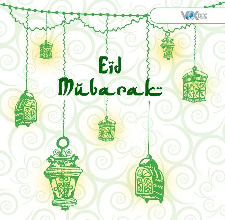 Happy Eid Mubarak to everyone. May you all have a very happy and blessed Eid.   #EidMubarak #EidWishes #Voxdoc #associate #uaeexchange
