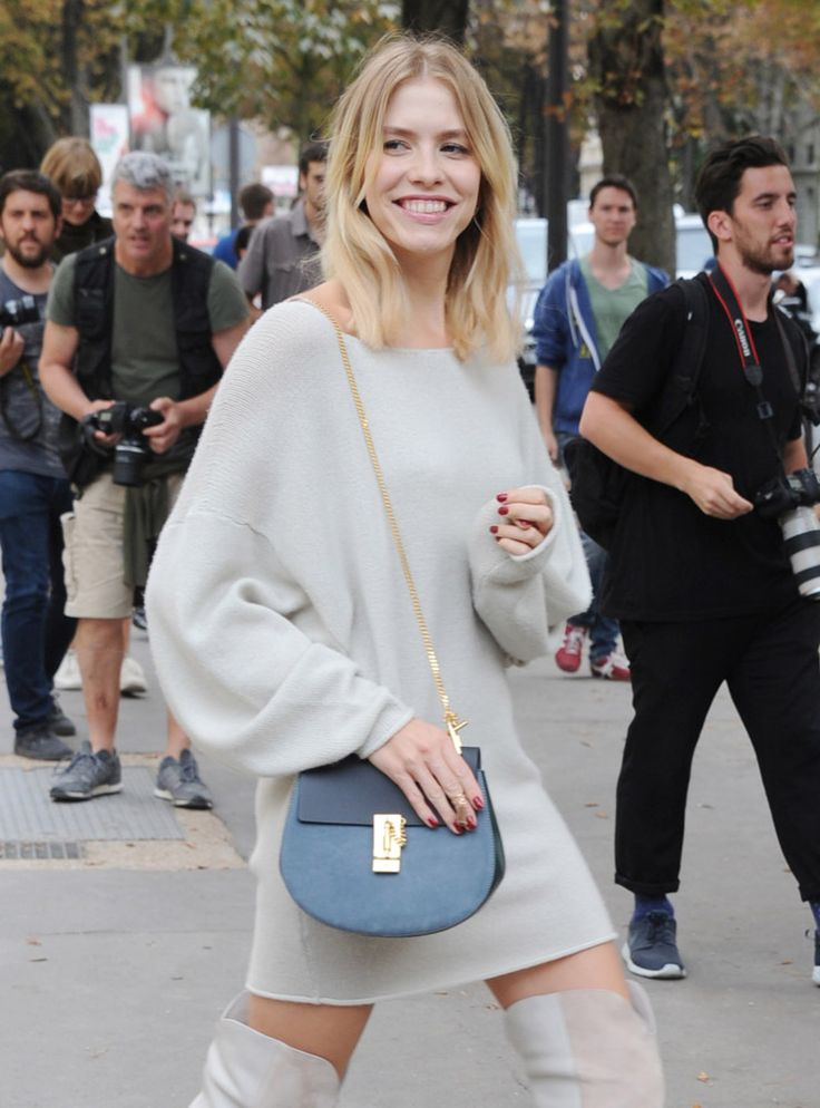 Celebrity Handbags Paris Fashion Week Spring 2015-71 Chloe Small ...