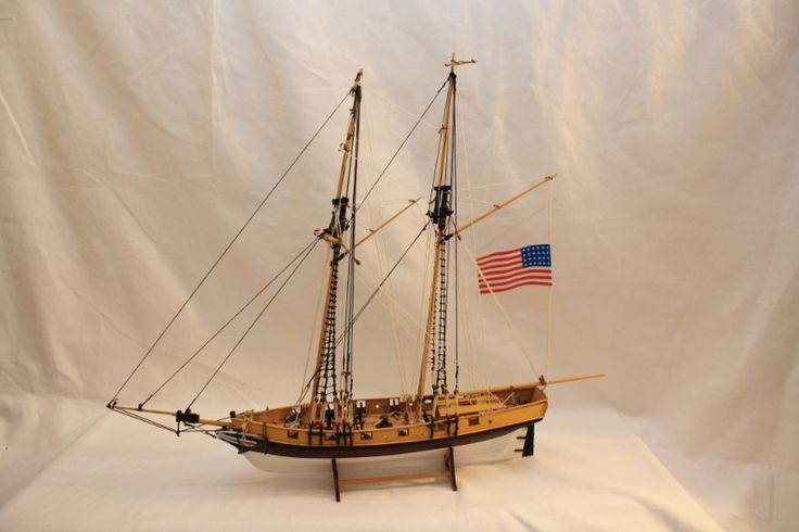 ROGER B. TANEY Cutter-Gaffelschoner 1833 :: Historische Modellschiffe v. Hans Michel
