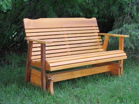 Superb Glider Bench $229 Https://www.etsy.com/listing/105103693. Patio  GliderOutdoor ...