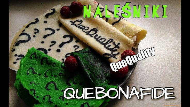 NALEŚNIKI QUEBONAFIDE / QUEQUALITY / ZNAKI ZAPYTANIA / PANCAKE ART :)