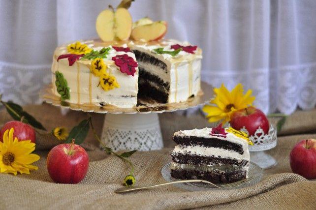 Almás-karamellás torta Recept képpel - Mindmegette.hu - Receptek