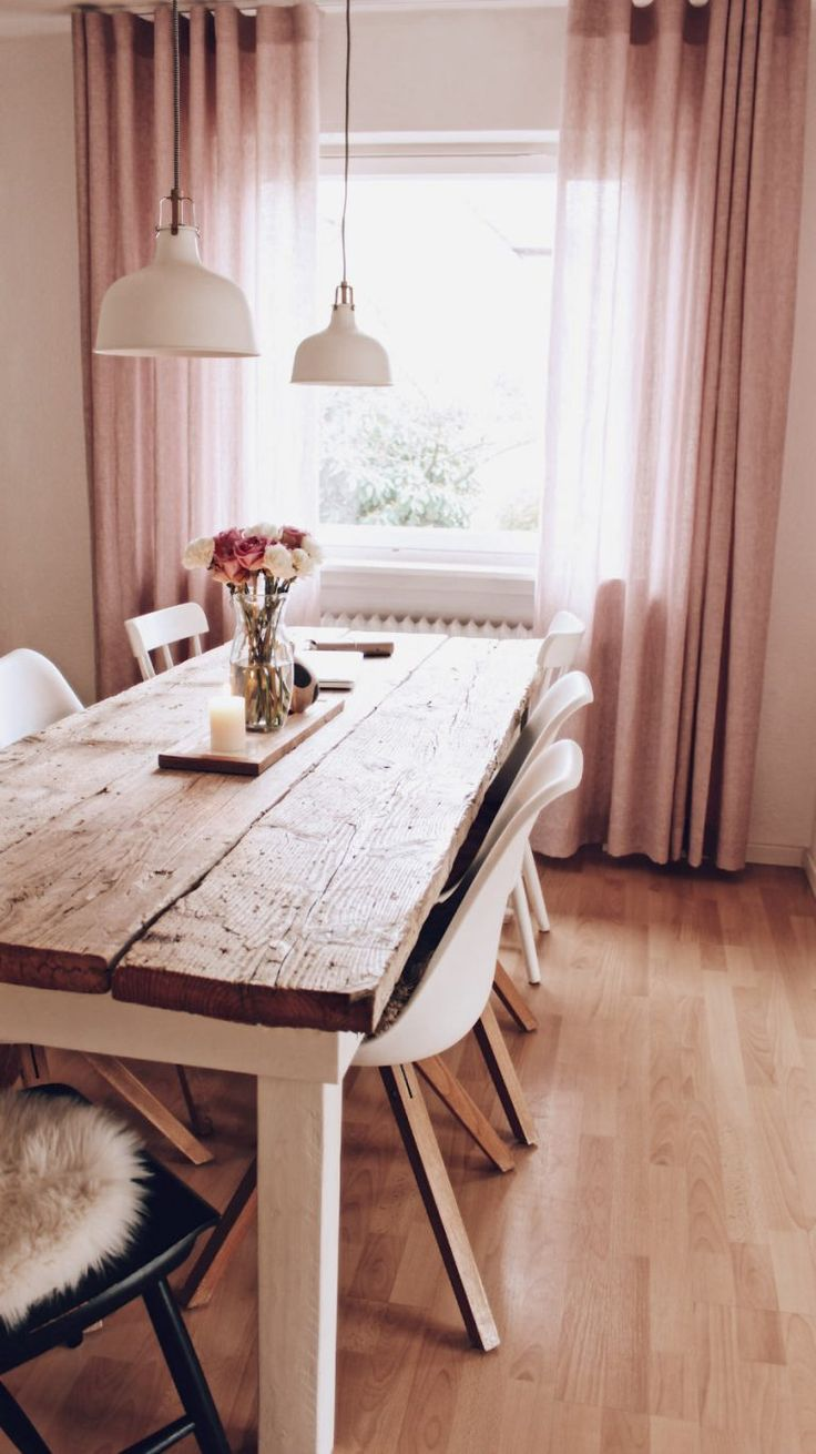 DIY build your own dining table