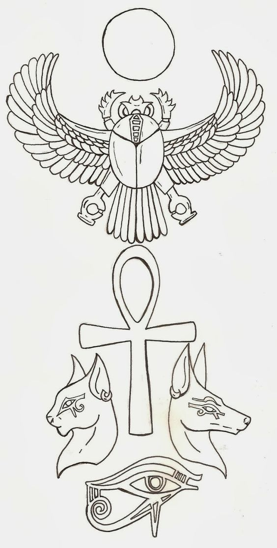 Curi Tattoo: Diseños de tatuajes: Egipcios                                                                                                                                                     Más