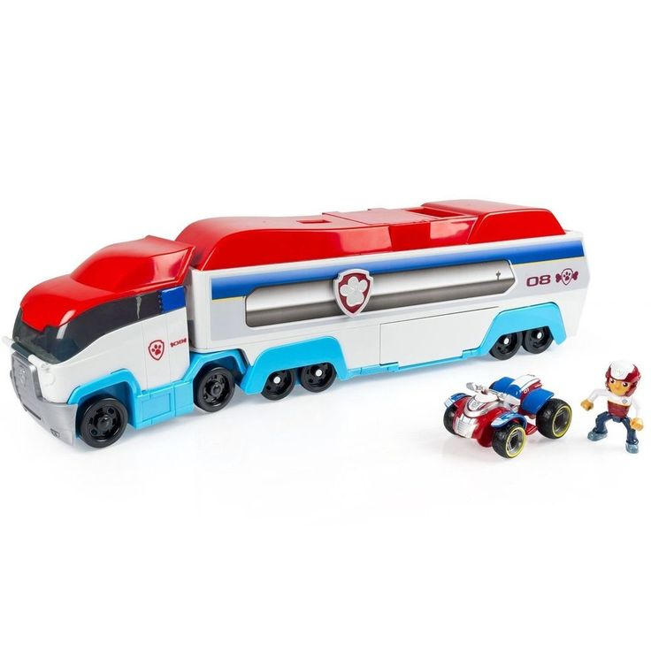 PAW Patroller Toy Patrol Truck Rescue Transporter Ryder and ATV Vehicle Kids #PawPatrol